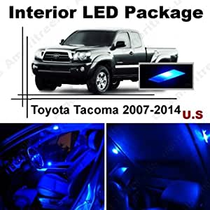 ameritree toyota tacoma 2007 2014 5 pieces blue led lights interior package and. Black Bedroom Furniture Sets. Home Design Ideas