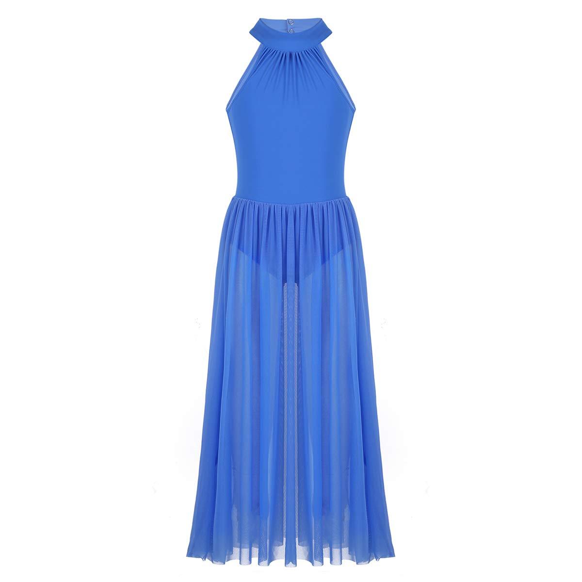 Alvivi DRESS ガールズ B07JHH2LVK 10 / 12|ブルー ブルー 43750