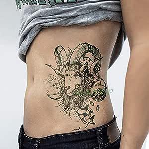 Handaxian 3pcs Impermeable Tatuaje alas de ángel Espada Tatuaje ...