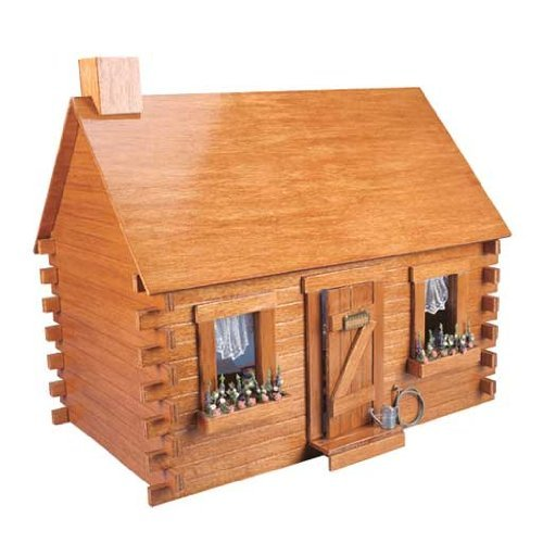 Corona Dollhouse Kit (Dollhouse Miniature The Shadybrook Cabin Dollhouse Kit by Corona/Greenleaf Steel Rule Di)