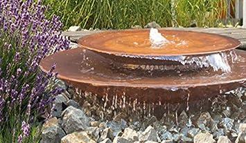Gartenmetall Outdoor Küche : Gartenmetall cortenstahl springbrunnen rom amazon garten