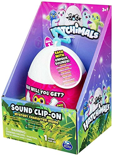 Hatchimals Sound Clip-On Mystery Plush