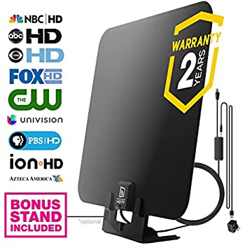 Amazon.com: HDTV Antenna by WatchFree HDTV - Amplified