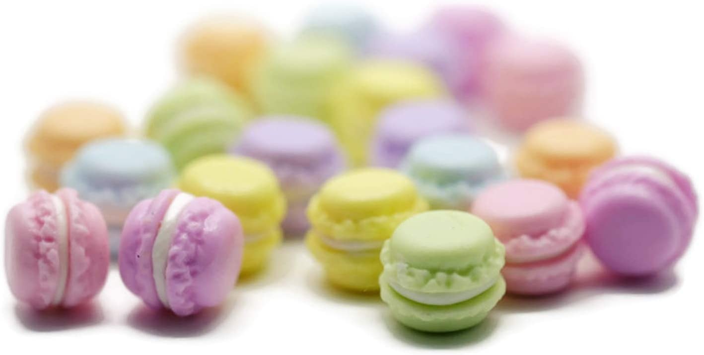 21 Psc French Macaroon Recipe Dollhouse Miniatures Food Kitchen by Cool Price