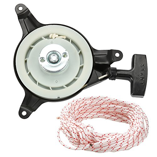 (Harbot 28400-ZG9-802 28400-ZG9-803 Recoil Starter Assembly with Cord Rope for Honda GXV140 GXV160 Engine HR215 HRB215 HRM195 HRM215 Lawn Mover)