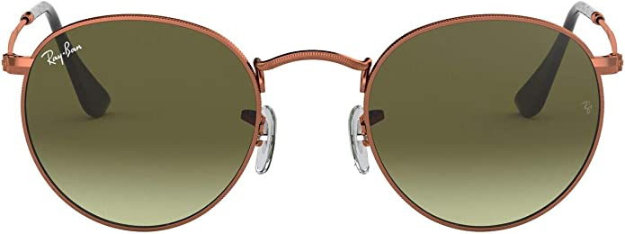 RB RB3592 Ja-Jo Sunglasses Shiny Copper//Green Mirror Red 55mm /& Care Kit