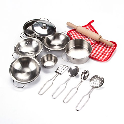 Toyerbee Pretend Play Toys Stainless product image