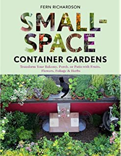 Small Space Garden Ideas Small space garden ideas philippa pearson 9781465415868 amazon small space container gardens transform your balcony porch or patio with fruits workwithnaturefo