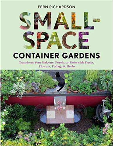 Small Space Container Gardens: Transform Your Balcony, Porch, Or Patio With  Fruits, Flowers, Foliage, And Herbs: Fern Richardson: 9781604692419:  Amazon.com: ...