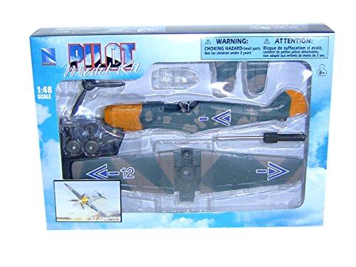 Pilot Model Kit 1:48 BF-109 NEW-RAY WORLD WAR 2 20215 (New Ray Pilot)