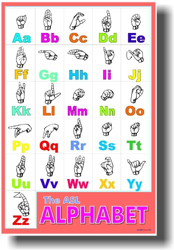 American Sign Language - Classroom Poster