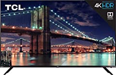 TCL's 6 Series combines stunning 4K HDR picture performance and the award winning Roku TV smart platform in a bold, brushed metal design for a superior TV experience. Dolby Vision delivers greater brightness and contrast, as well as a fuller ...