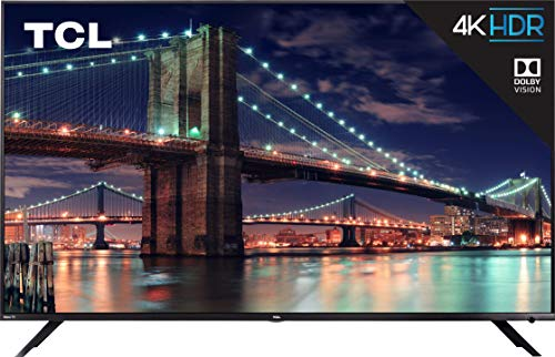 TCL 75R617 75-Inch 4K Ultra HD Roku Smart LED TV