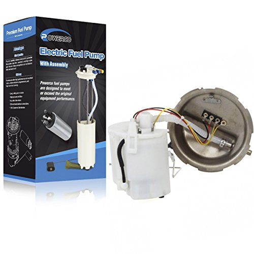 Zx2 03 Escort Tracer (POWERCO Electric Fuel Pump Module Assembly with Sending Unit E2246M / P74955M for 1999-2002 For Escort SE 2.0L L4 122ci for 1999-2000 Ford Escort)