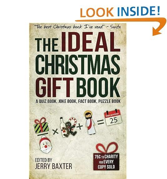 the ideal christmas gift book a quiz book joke book fact book puzzle book