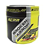 Repp Sports Broken Arrow Pre-workout, Spiked Punch, 30 Servings, Intense Pre-workout Powder for Increased Power, Energy, Focus and Endurance (Spiked Punch)
