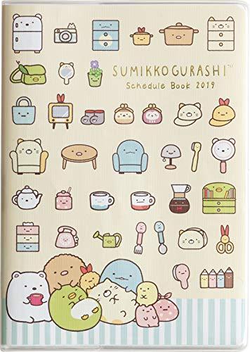 San-X Sumikko Gurashi Schedule Planner Diary 2019 B6 Monthly ME66209 (2018 October Start)