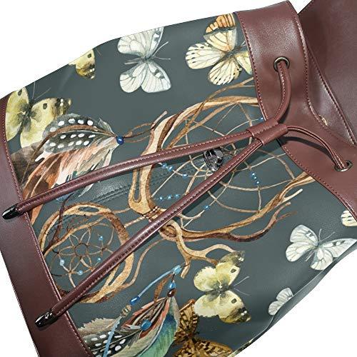 dos DragonSwordlinsu au unique Sac porté Taille multicolore à pour femme main 4x4Xrq