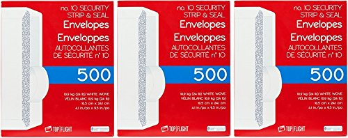 no 10 strip and seal envelopes - 5