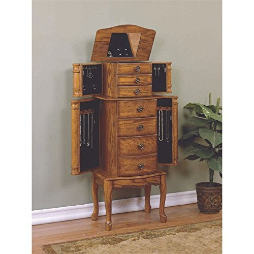 Powell ''Woodland Oak'' Jewelry Armoire by Powell Furniture (Image #3)