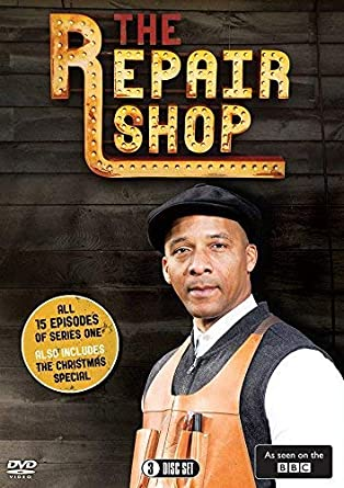 870ffa3ee The Repair Shop  Series One   The 2017 Christmas Special BBC DVD ...