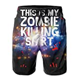 This Is My Zombie Killing Men's Basic Watershorts XXL With Pocket