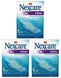 Nexcare BWB-06 Blister Waterproof Bandages, One Size, 6 Count (Pack of 3)