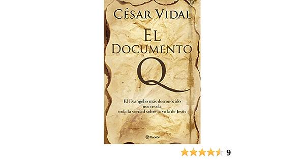El documento Q ((Fuera de colección)): Amazon.es: Vidal ...