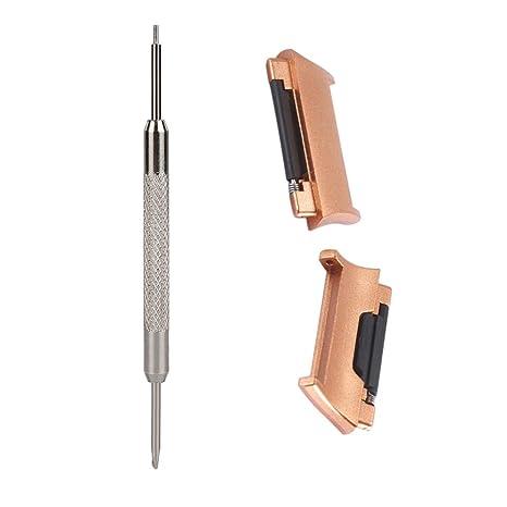 Cywulin Fitbit Ionic Conectores de acero inoxidable ...