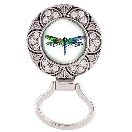 Dragonfly Snap Charm Magnetic Eyeglass Holder 20mm Snap