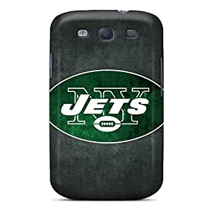 Slim Fit Tpu Protector Shock Absorbent Bumper New York Jets Case For Galaxy S3