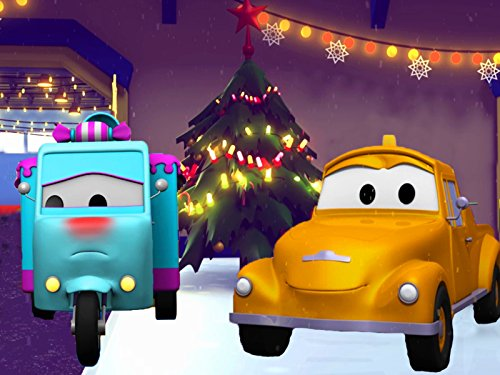 Tom The Tow Truck and the Christmas Candy Car