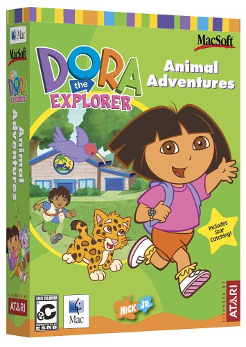 (Dora the Explorer Animal Adventures  - Mac)