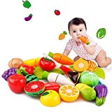 Children Educational Toy,Besde Cutting Fruit Vegetable Pretend Kid Play Toy (20PC)