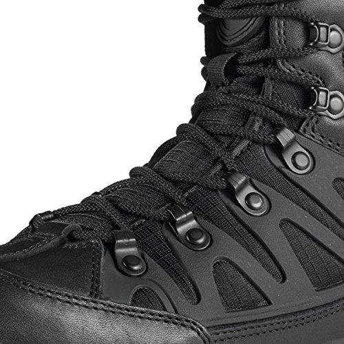 Stivale Tattico Militare Da Uomo Outdoor Sold Out Stivaletti Ultra Inverno Medio Da Trekking (nero + Pieno Fiore 10,5 D (m) Us)