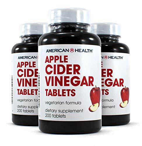 American Health Apple Cider Vinegar 3x 200 TAB Apple Cider Vinegar 200 Tablets