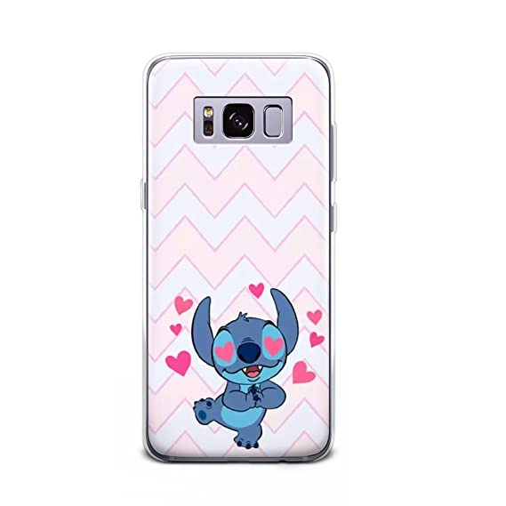 Gspstore Galaxy S8 Case Lilo Stitch Disney Cartoon Cute Case Soft Transparent Tpu Protector Cover For Samsung Galaxy S8 Color 23