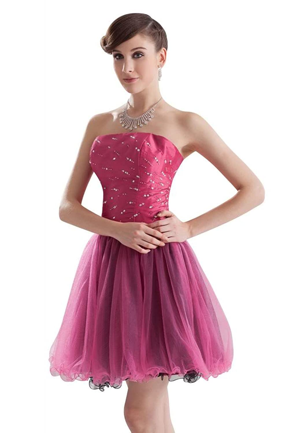 GEORGE BRIDE Attractive Fashion Prom Gown with Beaded Bodice