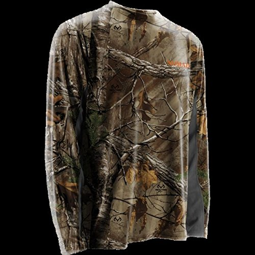Nomad Long Sleeve Cooling Tee, Realtree Xtra, 2XL