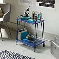Sauder Eden Rue End Table in Blue