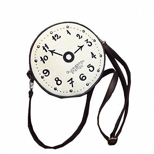 Generic Lady Handbag Hot Fashion Bags Women Handbag Famous Brands Clock Style Kabelka Woman Small Fringe Brand Bag New Mini Neverfull