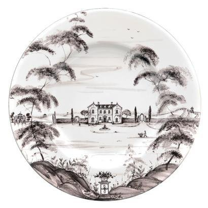Juliska Cntry Est Dinner Plate Main House-flint