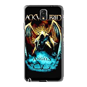 Shockproof Hard Phone Cover For Samsung Galaxy Note 3 (RnB5915IxcZ) Allow Personal Design Nice Black Veil Brides Pattern