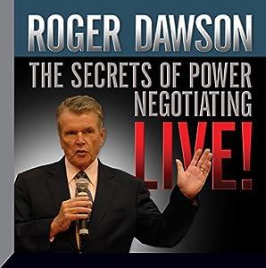 The Secrets of Power Negotiating Live! Speech