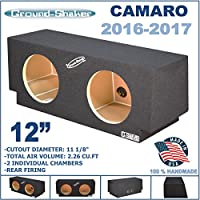 Chevy Camaro 2016-2017 12 Dual Sealed Sub Box