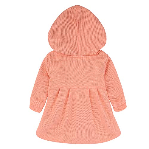 6917478c5dbc EGELEXY Baby Girl s Hooded Wool Cotton Trench Coat Outwear 12 ...