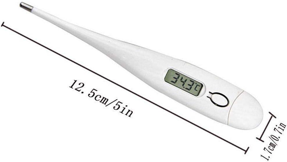 YOSIYO Morza Inicio Humano Adulto del Cuerpo del beb/é Term/ómetro Electr/ónico Digital Display LCD Metro de la Temperatura del Calor de Fiebre