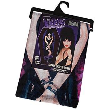Kreepsville 666 Official Elvira Coffin Shaped Beach Towel Mistress of the Dark
