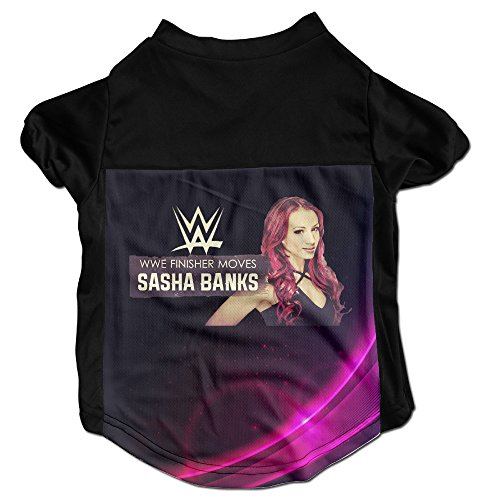Wwe Sasha Banks Vs Charlotte Popular Puppy Dog Clothes Sweaters Shirt Hoodie Coats (Wwe Money In The Bank Ring Set)
