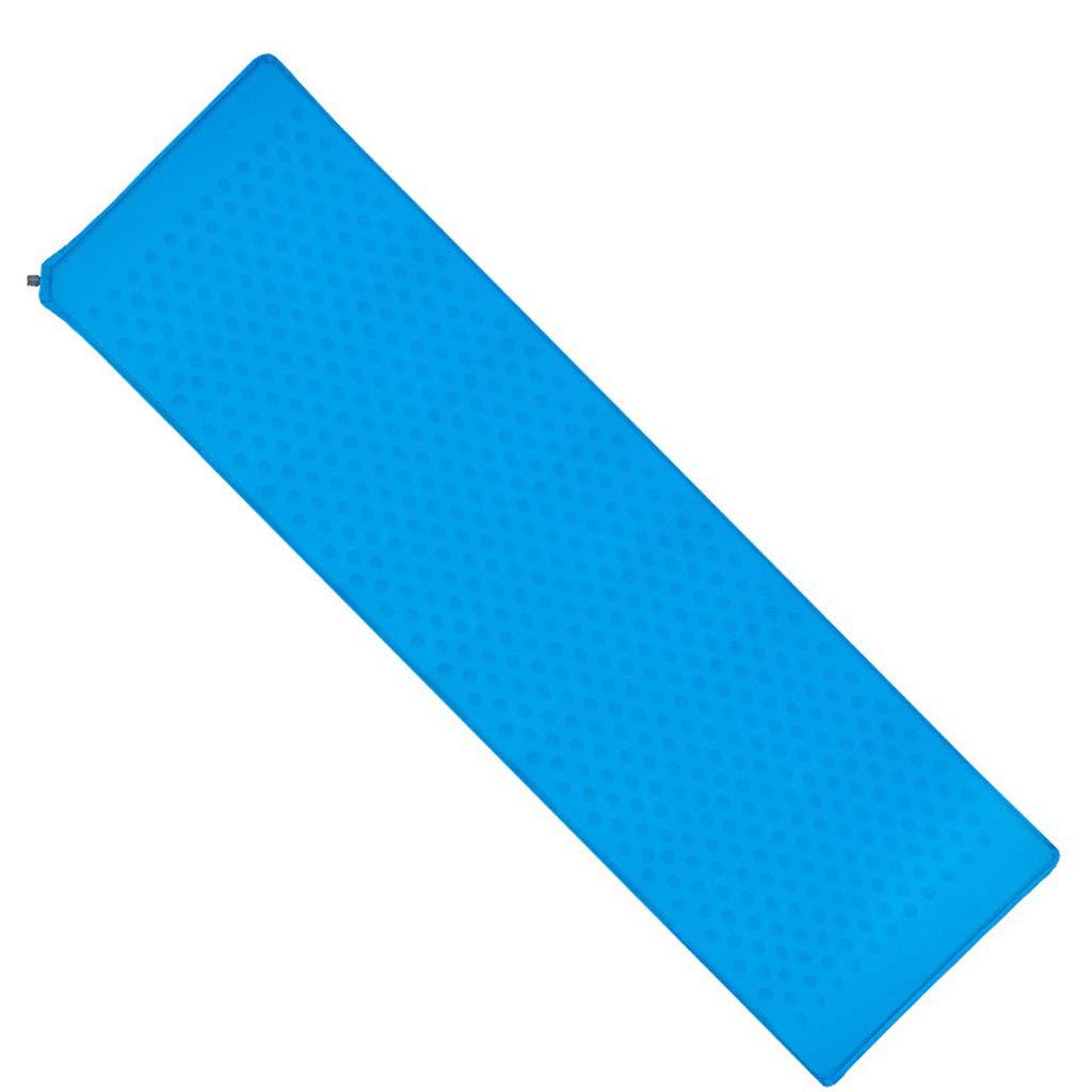 bleu  WERT Camping Matelas de Couchage Gonflable Matelas Matelas de Camping Coussin de Couchage Militaire Air Pad pour de plein air Randonnée Parking Hamac,bleu